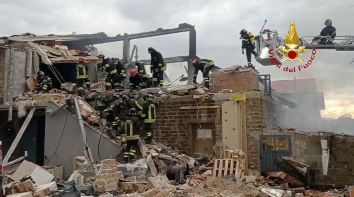Fire at medical marijuana lab in Italy kills 1, injures 3