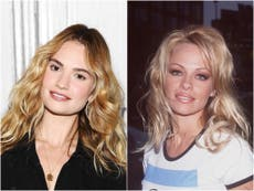 Lily James: Pursuit of Love star is unrecognisable as Pamela Anderson is new series Pam and Tommy