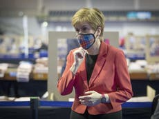 Election results – live: SNP route to Scotland majority now closed as Labour wins big in Wales