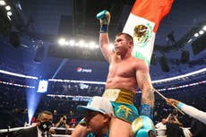Canelo Alvarez serves Billy Joe Saunders a brutal reminder of why he is boxing's king