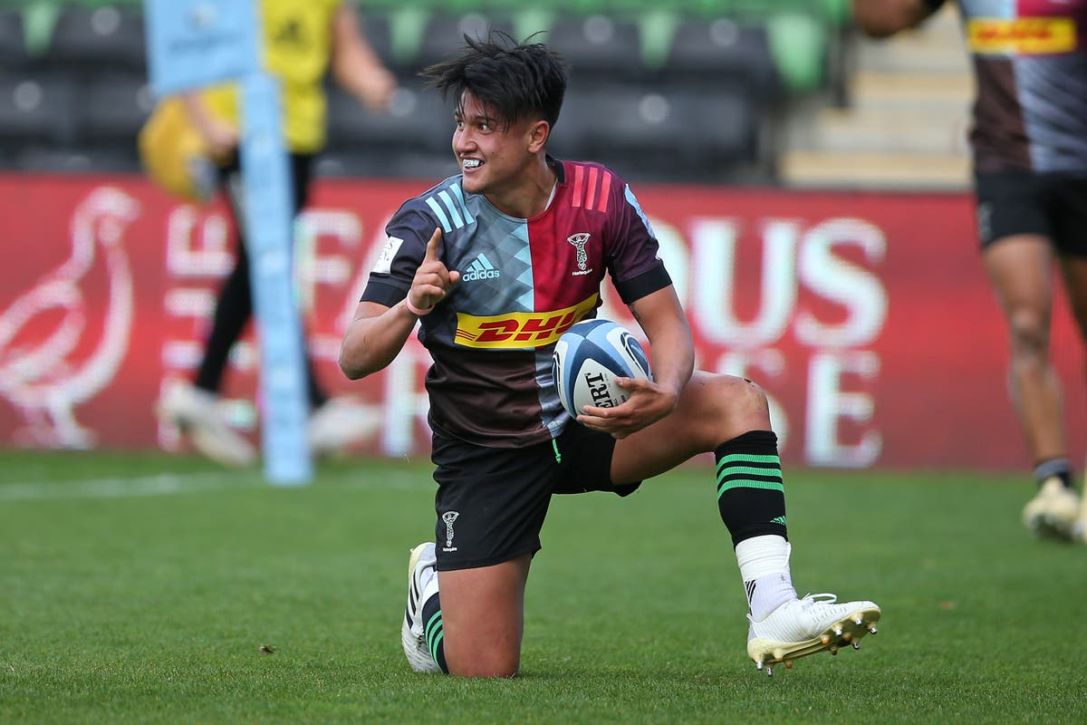 Mike Brown sent off but Marcus Smith inspires Harlequins to thrilling win over Wasps