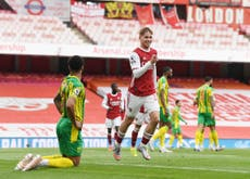 Mikel Arteta hopes Emile Smith Rowe injury is 'nothing major' after limping off against West Brom