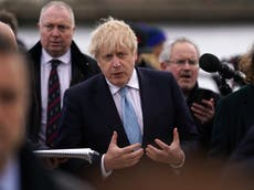 Boris Johnson news – live: PM investigated over Caribbean holiday, as Starmer 'foolish' to try to sack Rayner