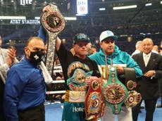 Canelo Alvarez cuts through the noise in a throwback to boxing's greats