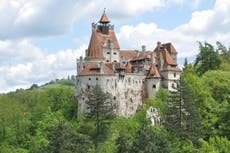 Dracula's castle is offering free vaccines to visitors