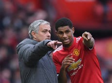 Marcus Rashford found it 'difficult' to play his best under Jose Mourinho