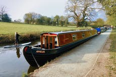The joys of meandering through Shropshire on a narrowboat