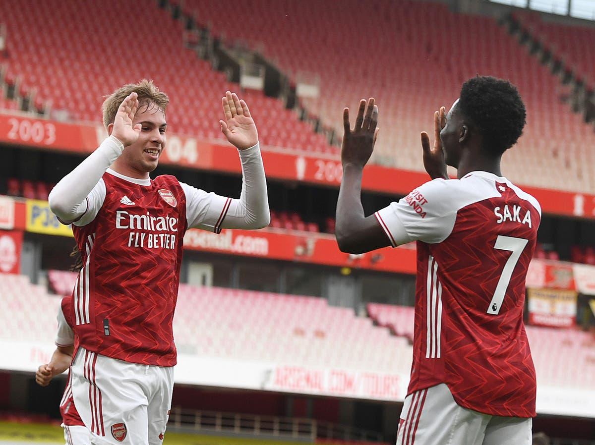 Ian Wright reveals worries over Bukayo Saka and Emile Smith Rowe