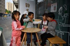 What effect might China's shrinking population have on the world?