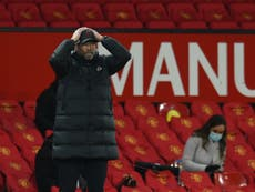 Jurgen Klopp must change his Old Trafford habits to keep Liverpool's Champions League chances alive