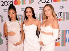 Brit Awards 2021: Little Mix attend ceremony after Perrie and Leigh-Anne pregnancy announcements