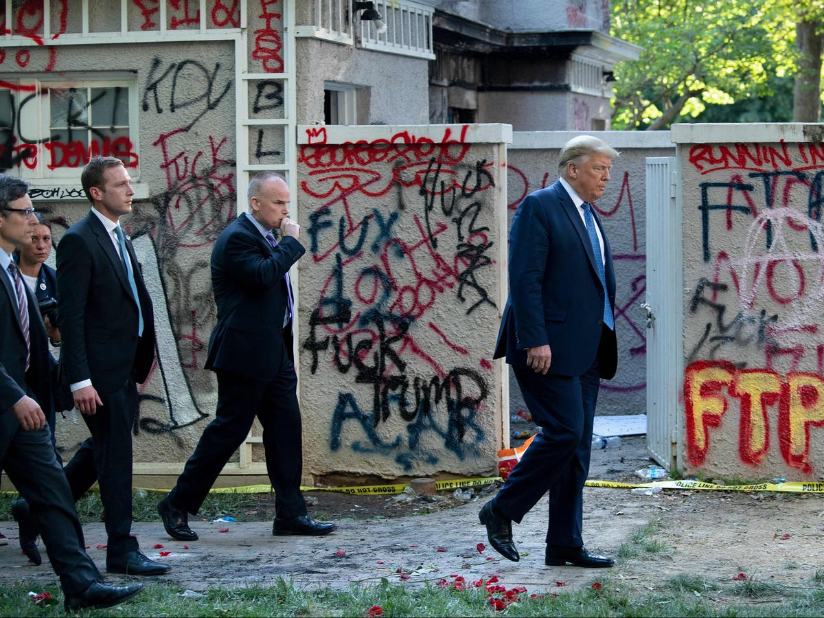 DOJ asks judge to dismiss lawsuit against Trump for protest crackdown before Bible photo op