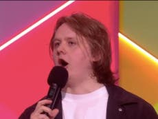 Lewis Capaldi speech repeatedly muted at the Brit Awards – here's what he said in full
