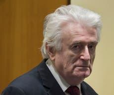 Bosnian Serb ex-leader Karadzic to spend life in UK prison