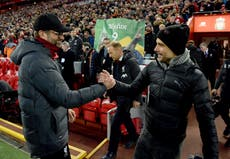Jurgen Klopp reveals text to 'best in the world' Pep Guardiola after Man City's Premier League title win