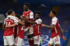 Chelsea vs Arsenal LIVE: Premier League result and reaction tonight