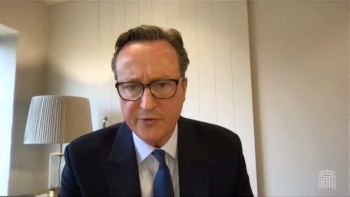 """David Cameron accused of """"demeaning"""" the role of prime minister through Greensill involvement"""