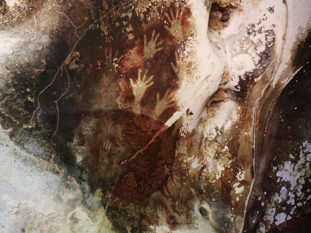 Climate crisis 'accelerating degradation' of ancient rock paintings