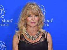 Goldie Hawn opens up about suffering from depression when she became famous: 'I couldn't go outside'