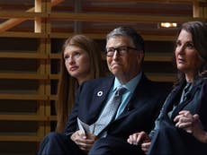 Bill Gates appears on daughter Jennifer's Instagram ahead of first divorce hearing