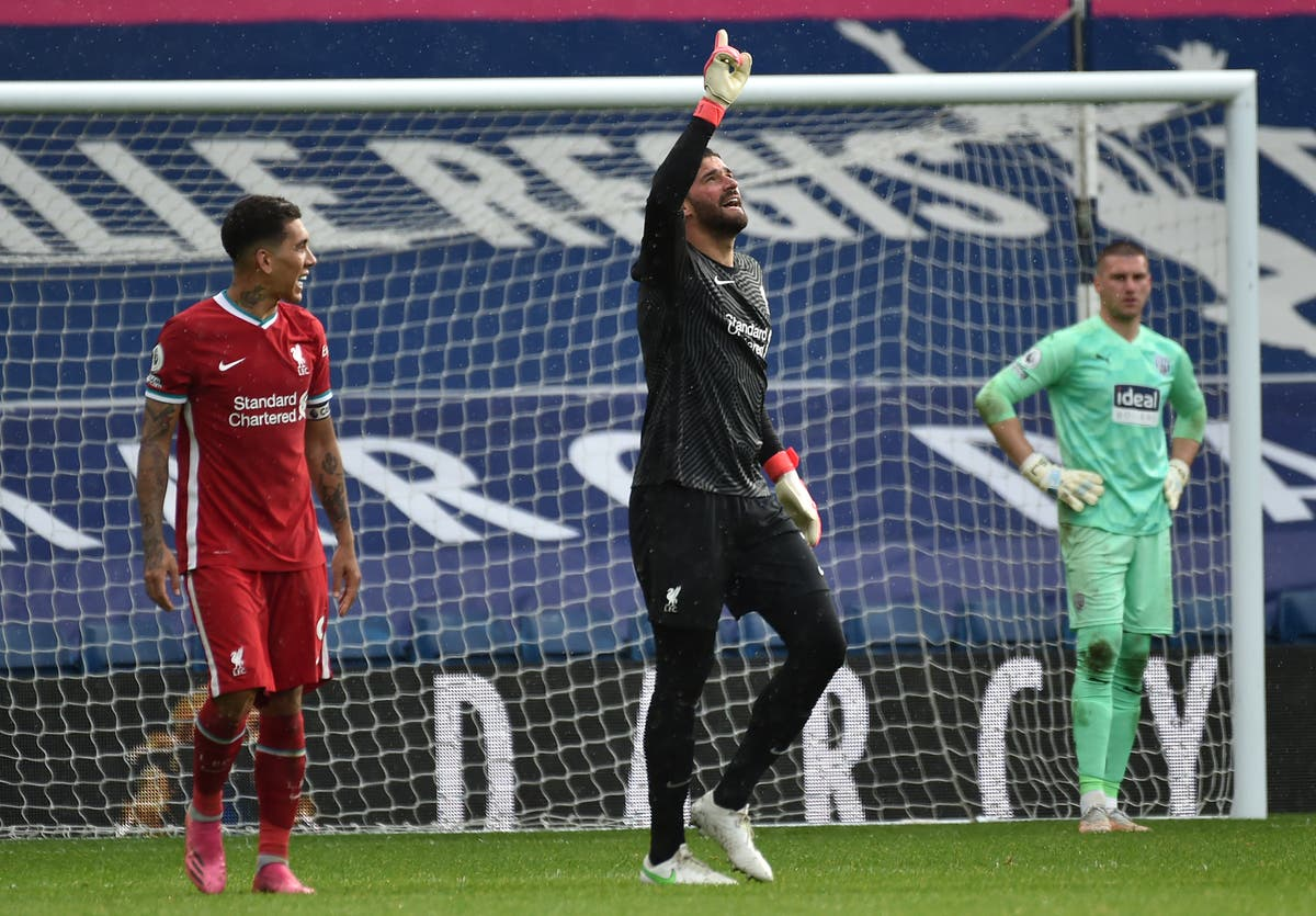 Alisson thanks rival clubs and dedicates extraordinary winning goal for Liverpool to late father