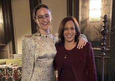 Vice President Kamala Harris congratulates stepdaughter on college graduation