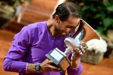 Rafael Nadal beats Novak Djokovic to win record-extending 10th Italian Open title