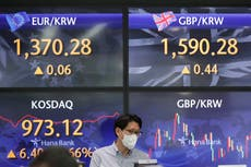 Asian stocks mixed after Taiwan, Singapore anti-virus curbs