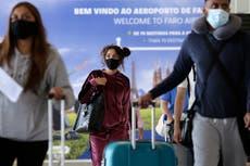 Vacation redux: British tourists return to Portugal beaches