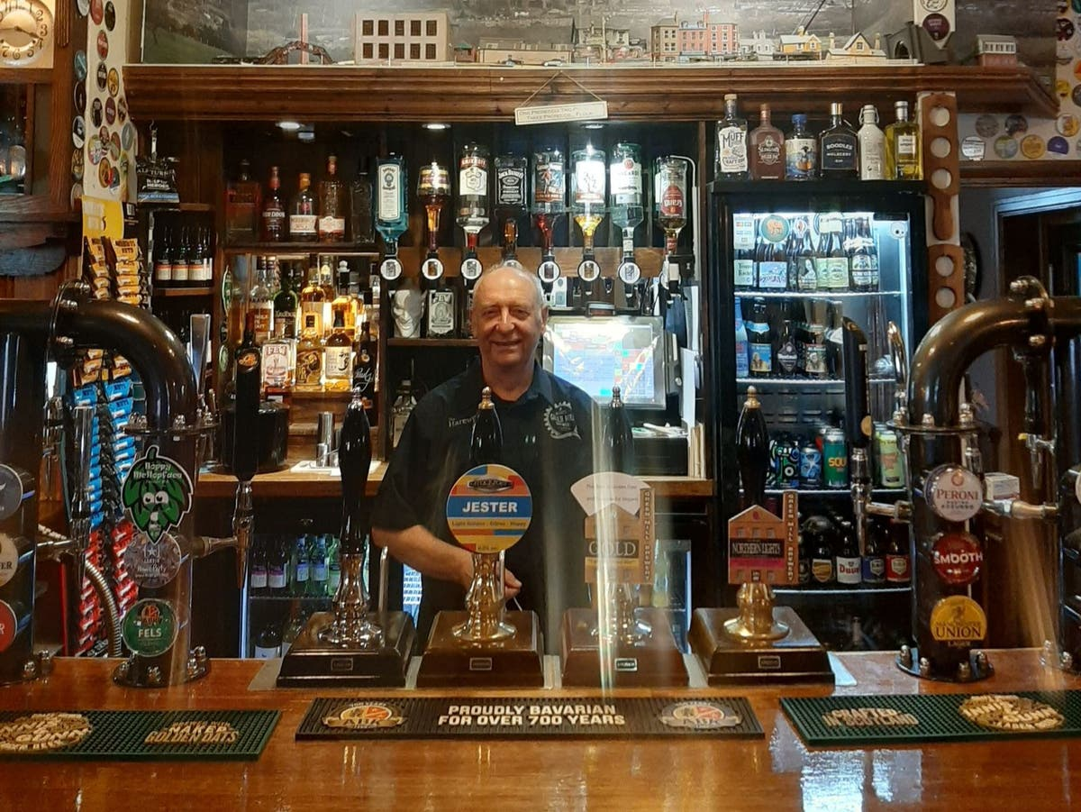 Drinkers say 'fantastic' to be back at only pub in village
