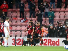 Advantage Bournemouth after narrow win over Brentford in play-off semi-final first leg