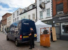 Fred West news: Police find 'six voids' under cafe in search for suspected victim Mary Bastholm