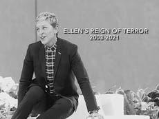 Ellen DeGeneres's 'reign of terror' brutally mocked at MTV Movie Awards
