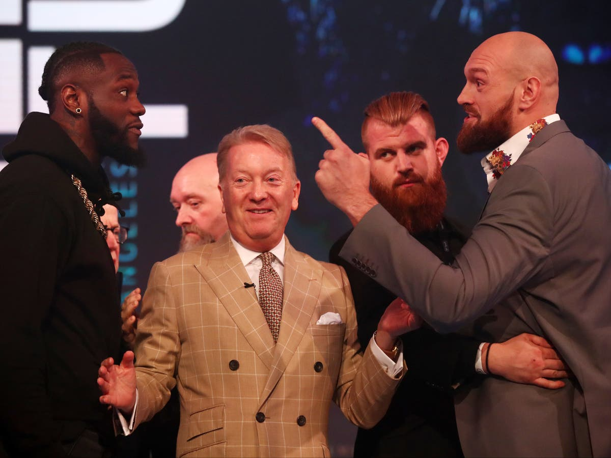 Deontay Wilder demands $20m to allow Tyson Fury vs Anthony Joshua to go ahead