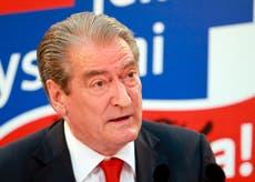Albania's president denounces US sanction of former leader