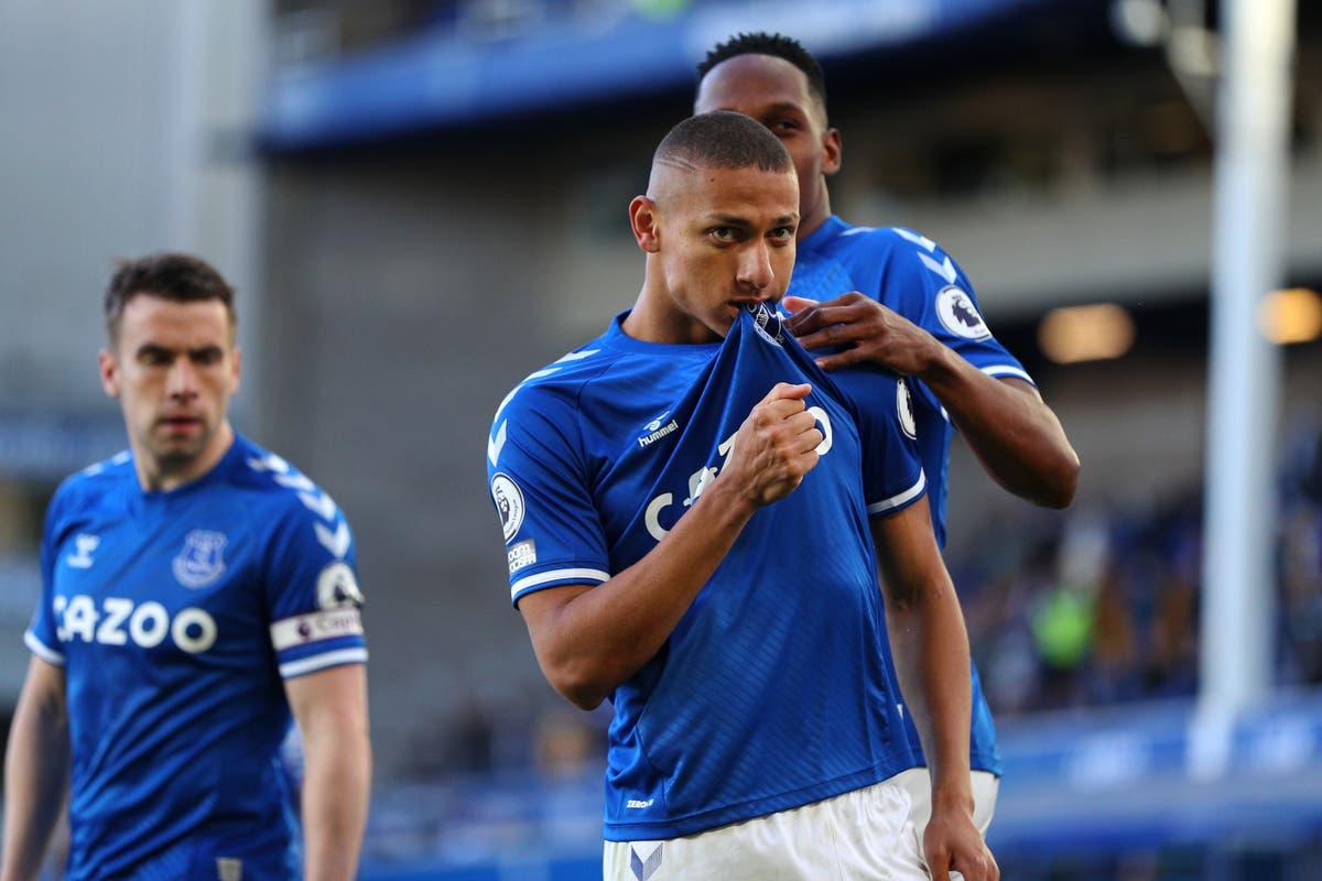 Richarlison strikes to down Wolves as Everton keep European hopes alive