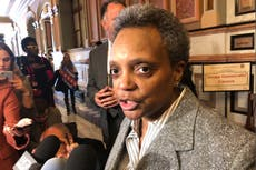 Chicago mayor: Reporters of color get 2-year mark interviews