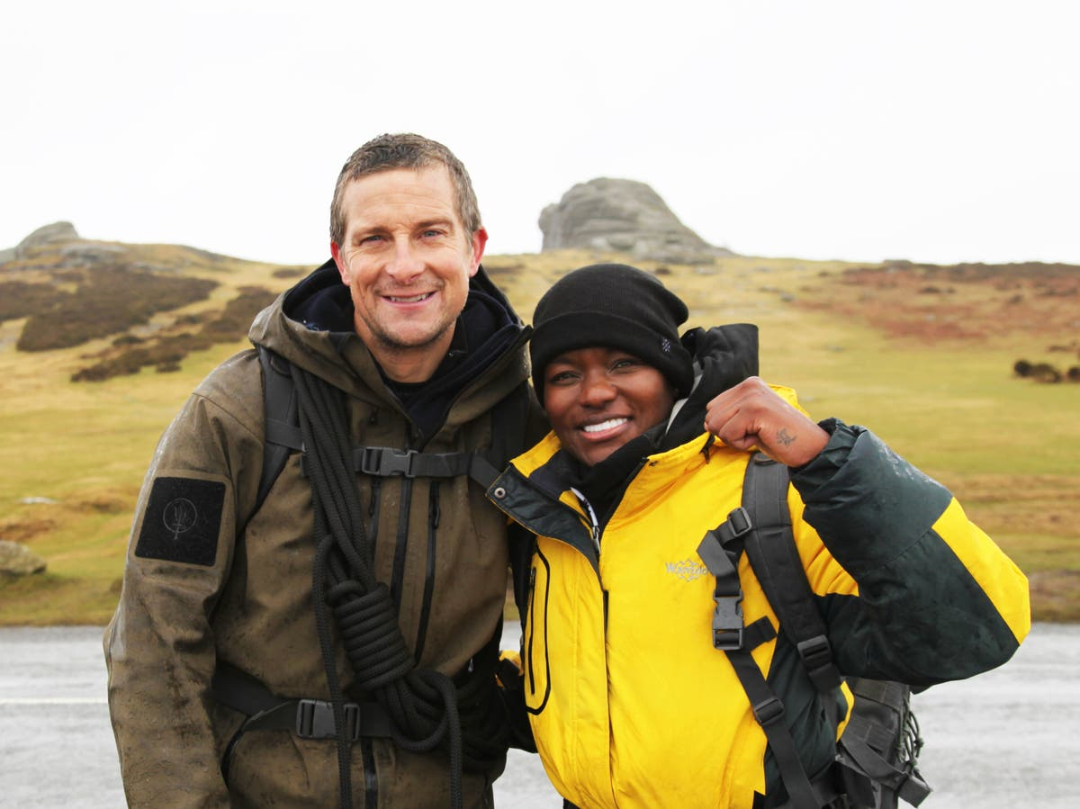 Bear Grylls reveals he and Nicola Adams were forced to cook egg using hand sanitiser