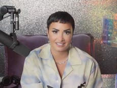 Demi Lovato: Radio host 'quits show' rather than stopping jokes about non-binary pop star