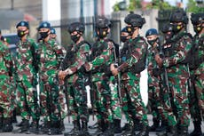 Indonesia's troop surge in Papua to 'wipe out' armed rebels, says police chief