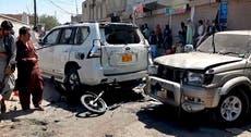 Bomb targeting Islamist leader's car kills 6 in Pakistan