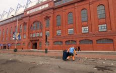 Police find 'no criminality' in video of Rangers players celebrating title