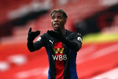 Roy Hodgson does not envy successor's role in trying to keep Wilfried Zaha