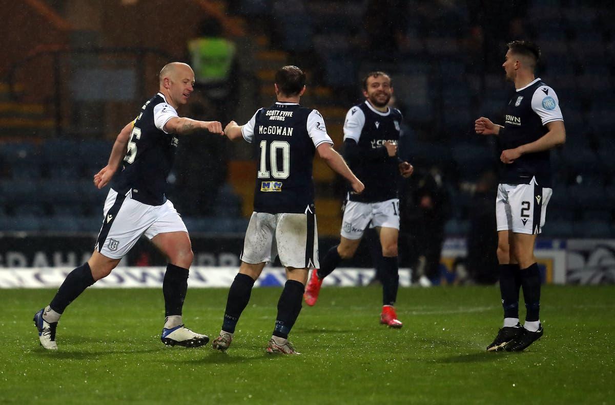 Dundee midfielder Paul McGowan rues missed chances against Kilmarnock