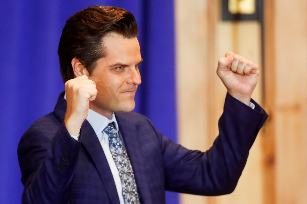 Matt Gaetz says thousands of dollars to close on yacht with his fiancee 'went missing'