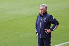 Everton boss Carlo Ancelotti will quickly turn attention to next season