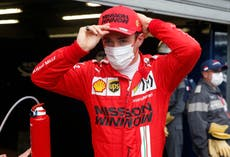 Charles Leclerc left sweating over pole as Lewis Hamilton moans at Mercedes