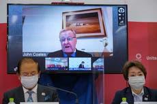 Coates gets backlash saying Olympics are on, no matter virus