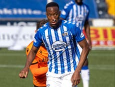 Nicke Kabamba could return for Kilmarnock after hamstring problem
