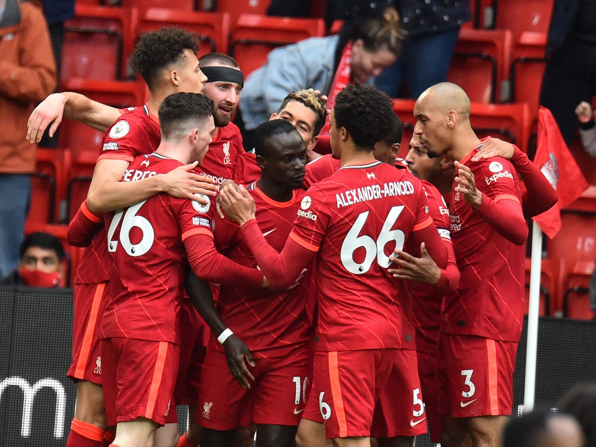 Sadio Mane double sees Liverpool past Crystal Palace and into Champions League